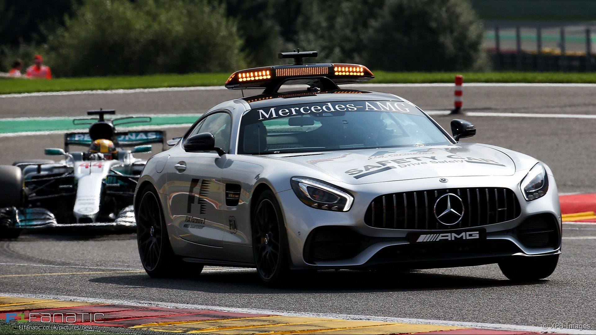 Safety Car, Spa-Francorchamps, 2017