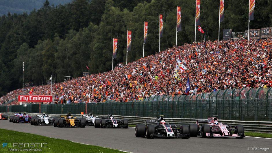 Start, Spa-Francorchamps, 2017