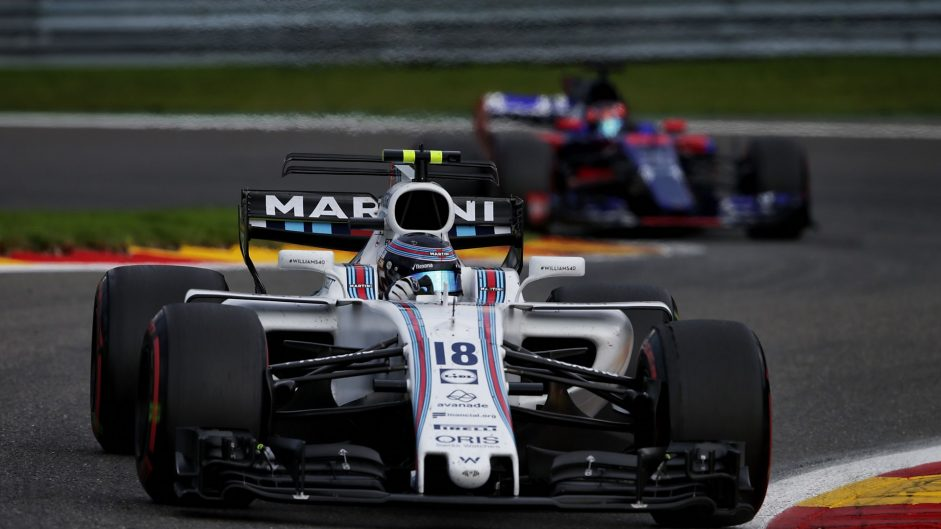 Lance Stroll, Williams, Spa-Francorchamps, 2017