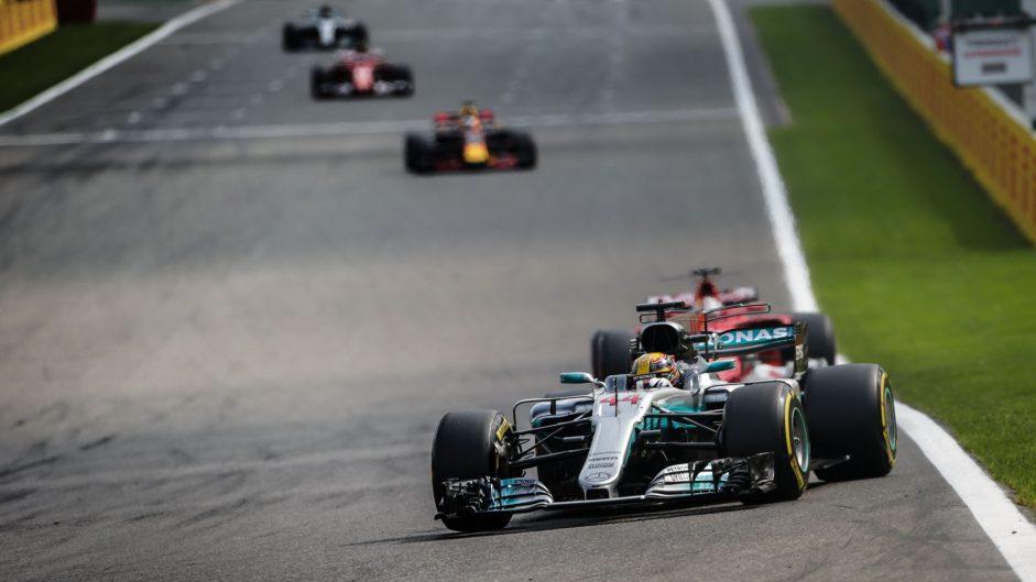 Lewis Hamilton, Mercedes, Spa-Francorchamps, 2017