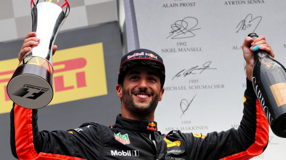 Ricciardo happy to keep racking up podiums
