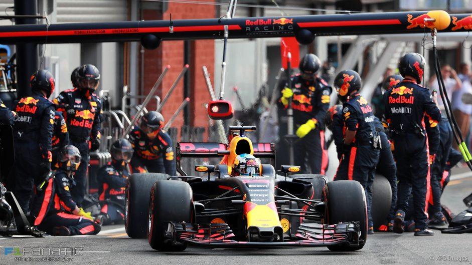 Daniel Ricciardo, Red Bull, Spa-Francorchamps, 2017
