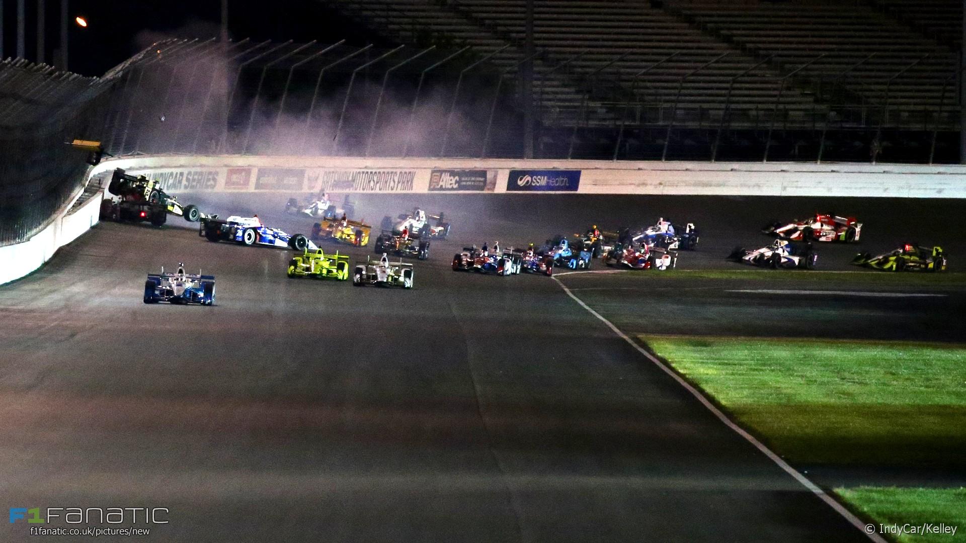 Start, Gateway, IndyCar, 2017