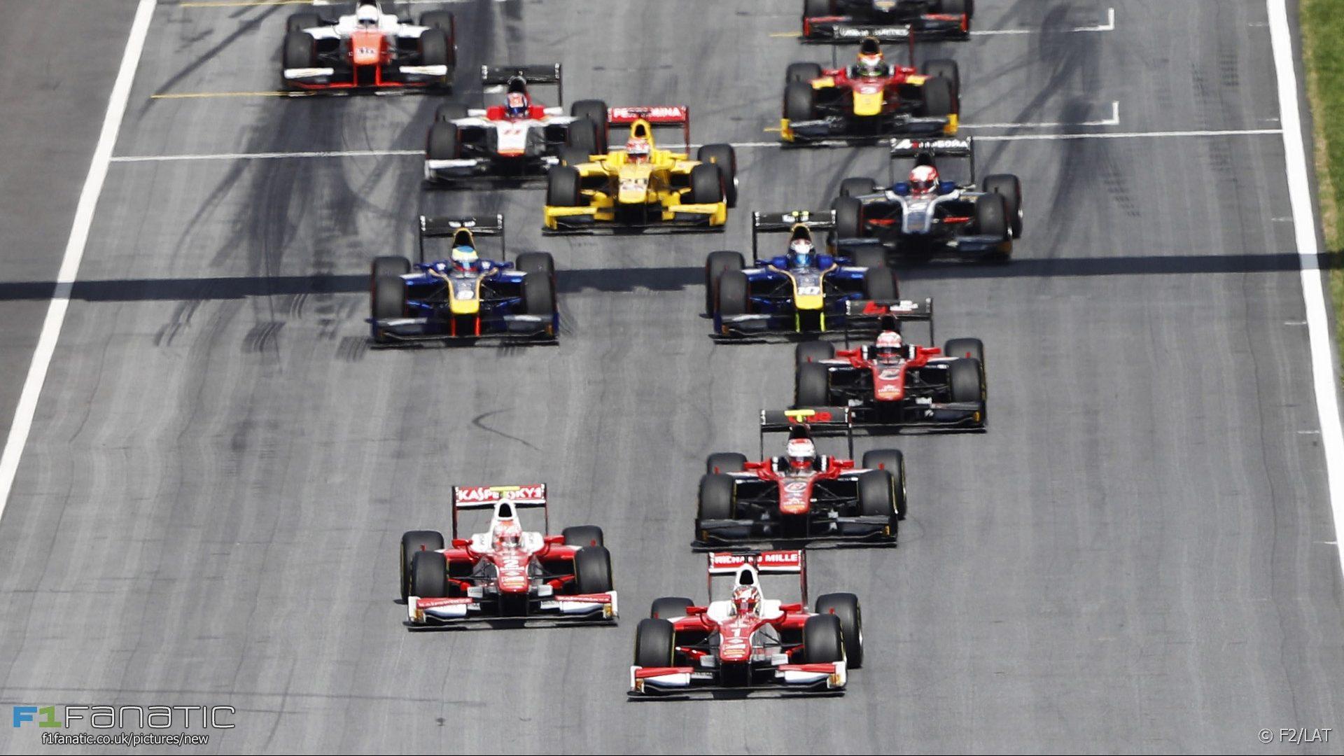 Start, Formula Two, Red Bull Ring, 2017