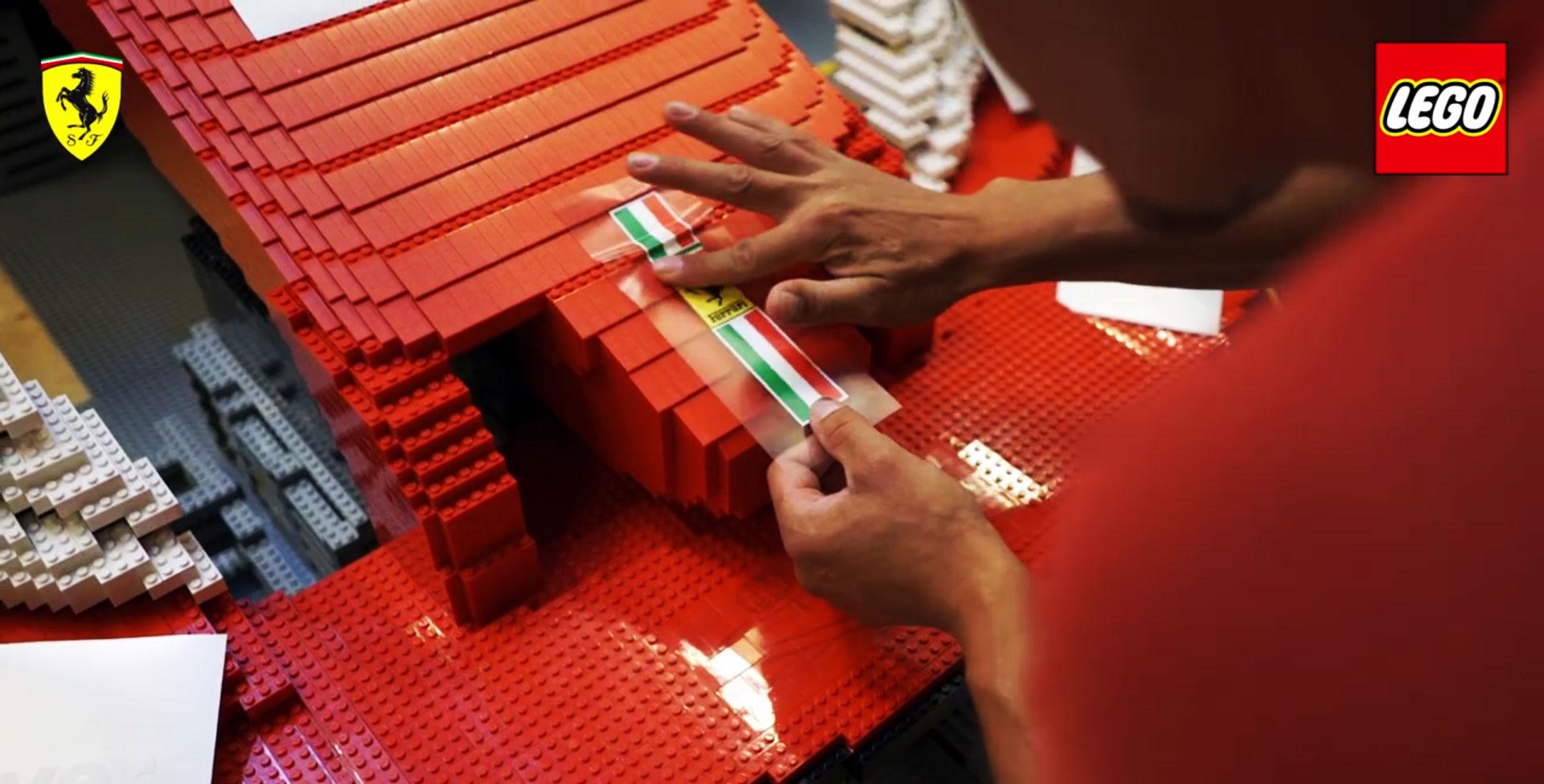 Lego Ferrari SF70H, 2017