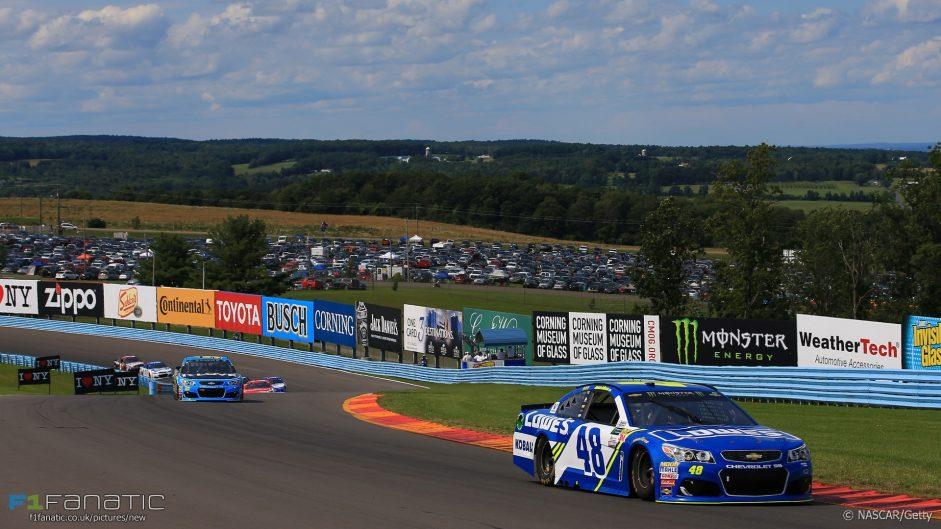 Three leaders in last five laps in NASCAR nailbiter at Watkins Glen
