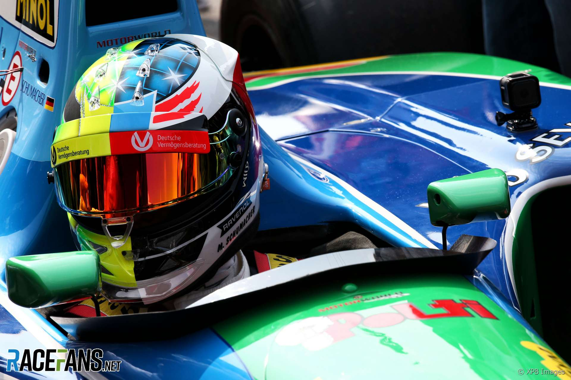 Pictures Mick Schumacher Drives His Father S Title Winning Benetton At Spa Racefans