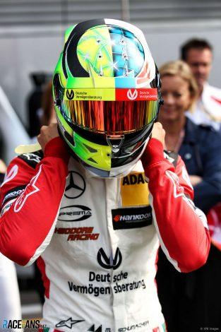 Mick Schumacher, Benetton B194, Spa-Francorchamps, 2017