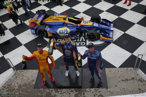 Ryan Hunter-Reay, Alexander Rossi, Scott Dixon, IndyCar, Watkins, Glen, 2017