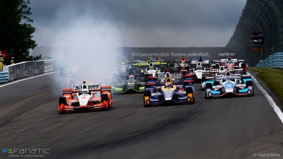 Watkins Glen shock sets up seven-way showdown at IndyCar finale