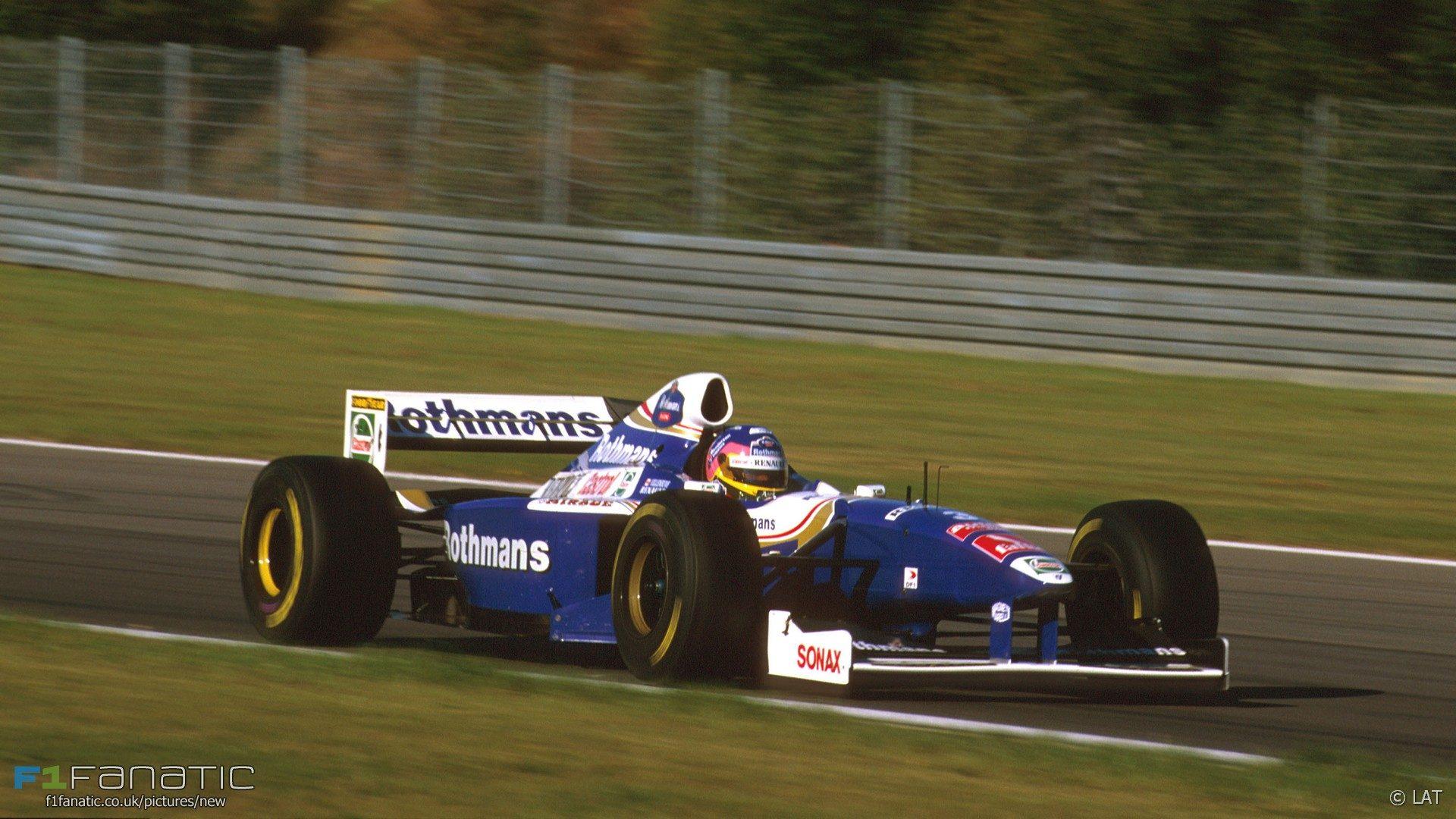 Jacques Villeneuve, Williams, Nurburgring, 1997