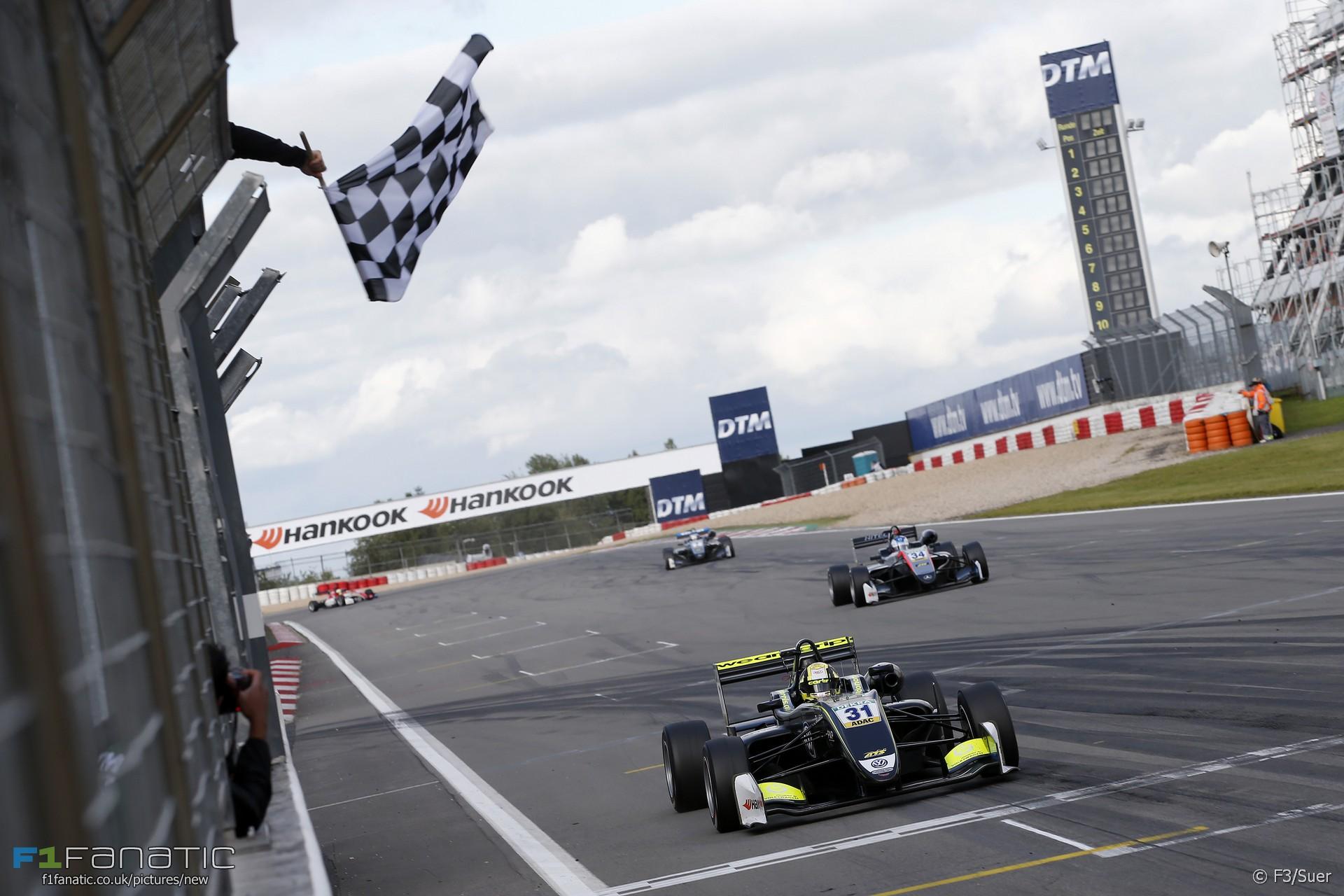 Lando Norris, Carlin, Formula Three, Nurburgring, 2017