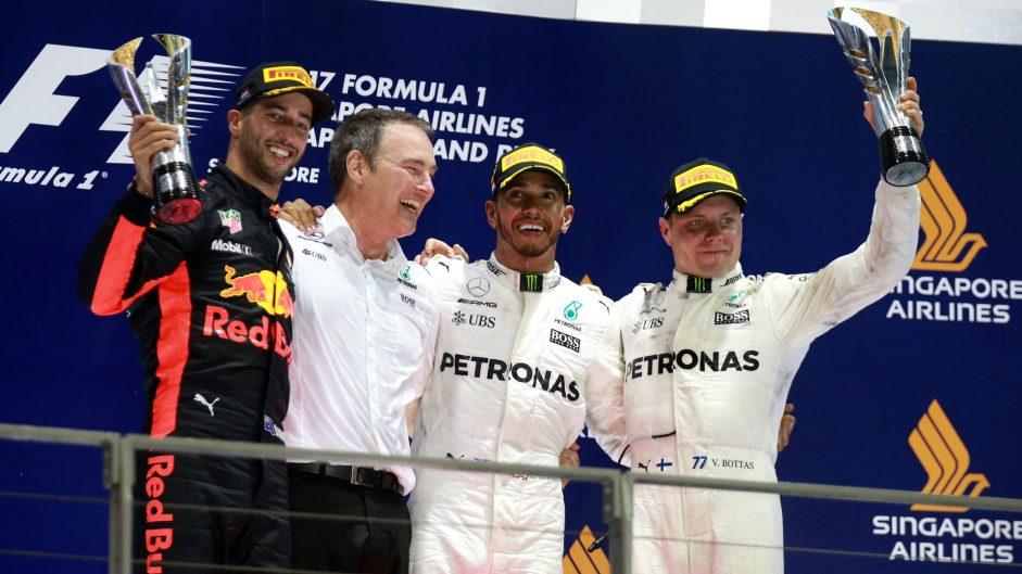 2017 Singapore Grand Prix Predictions Championship results