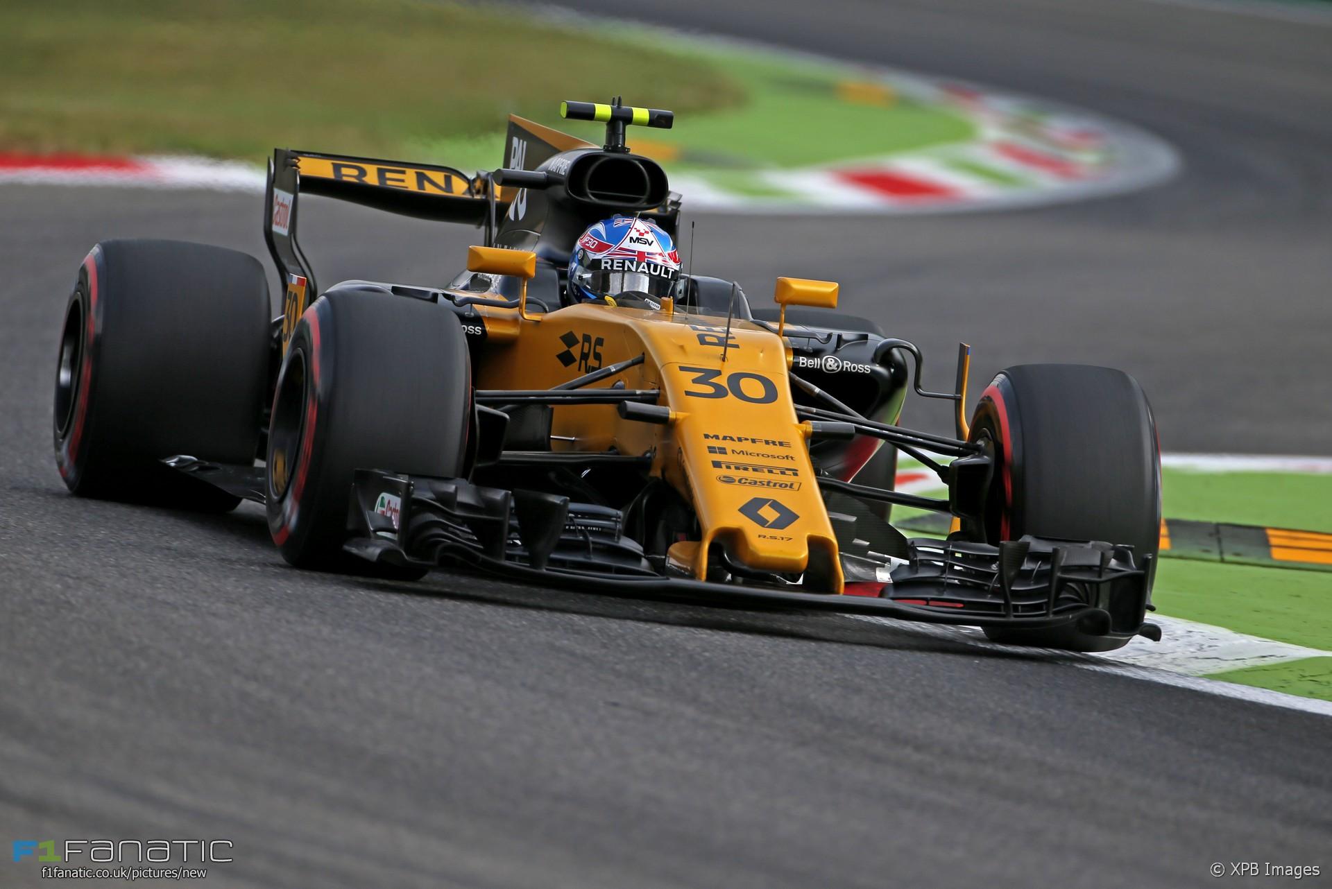 Jolyon Palmer, Renault, Monza, 2017 · F1 Fanatic