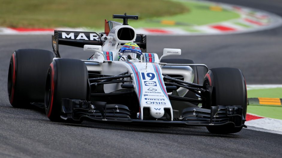 Felipe Massa, Williams, Monza, 2017