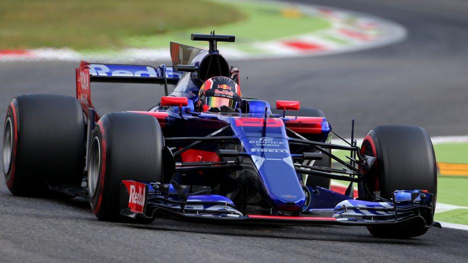 Daniil Kvyat, Toro Rosso, Monza, 2017