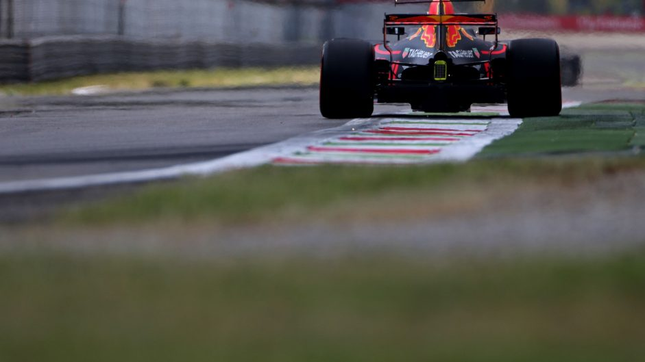 Max Verstappen, Red Bull, Monza, 2017