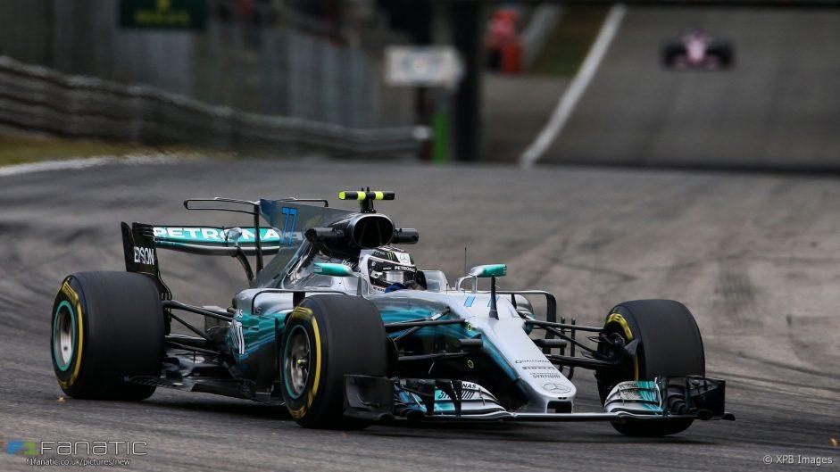 Mercedes quickest again but Ferrari close in