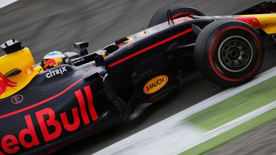 Daniel Ricciardo, Red Bull, Monza, 2017