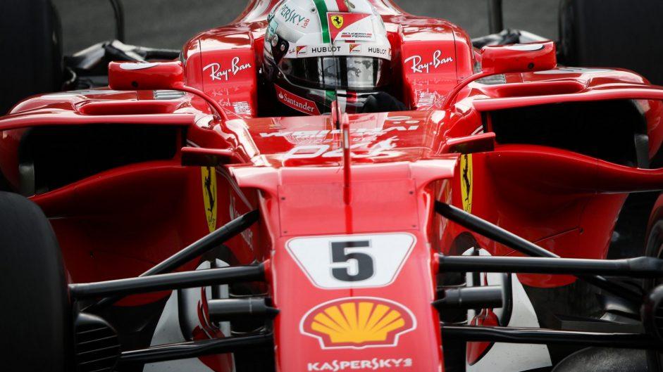 Sebastian Vettel, Ferrari, Monza, 2017
