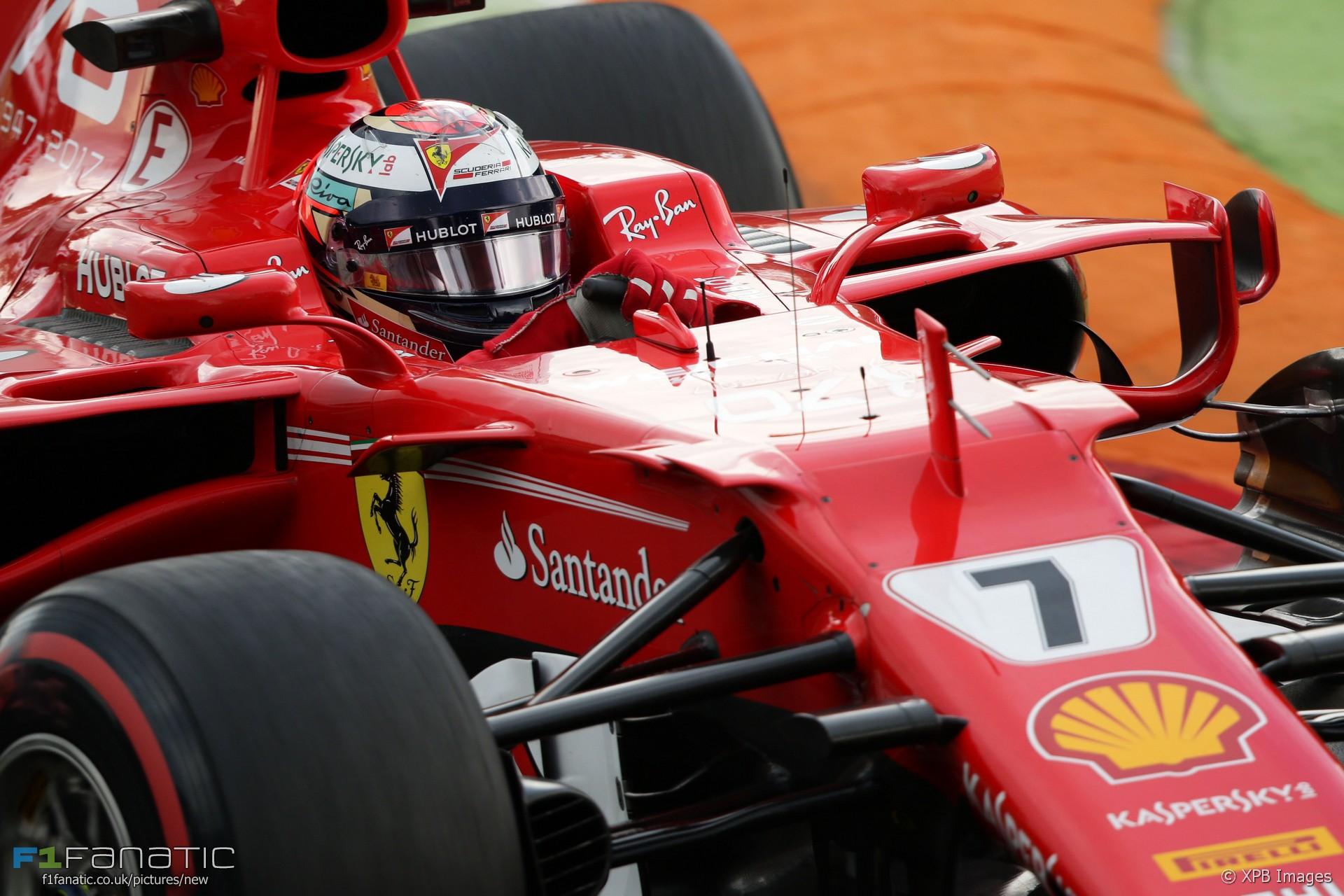 Kimi Raikkonen, Ferrari, Monza, 2017