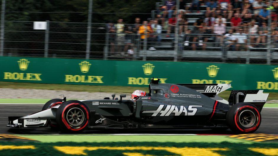 Kevin Magnussen, Haas, Monza, 2017