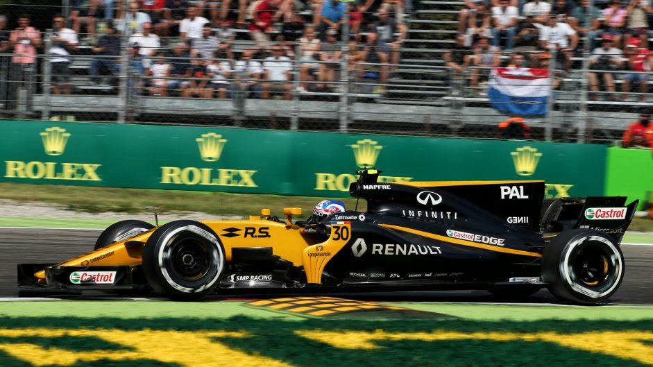 Jolyon Palmer, Renault, Monza, 2017