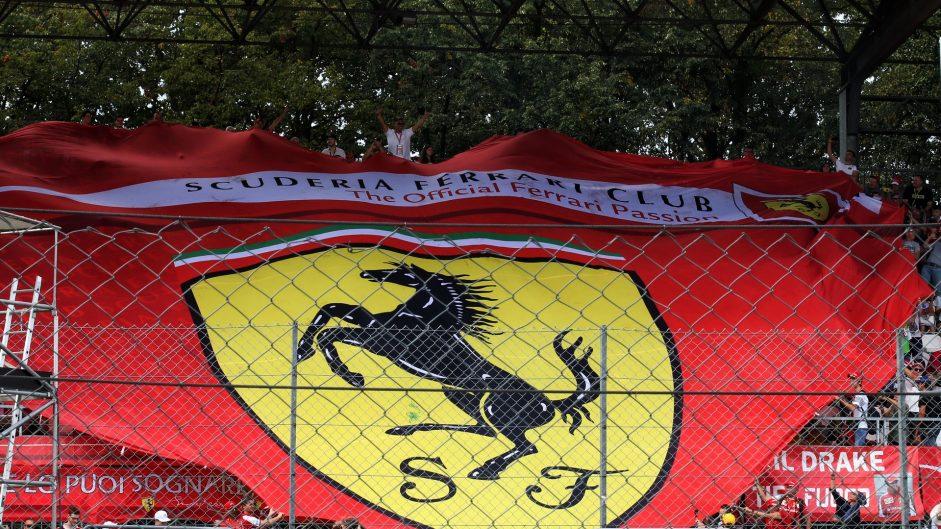 Ferrari fans, Monza, 2017