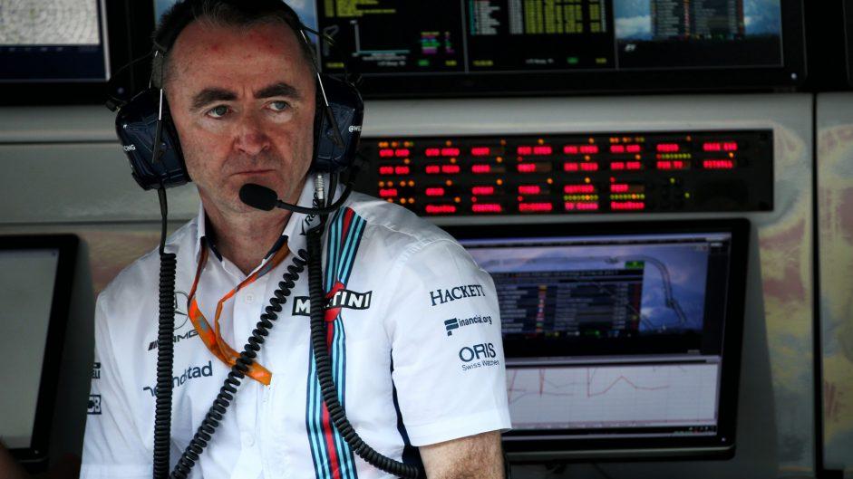 Paddy Lowe, Williams, Monza, 2017