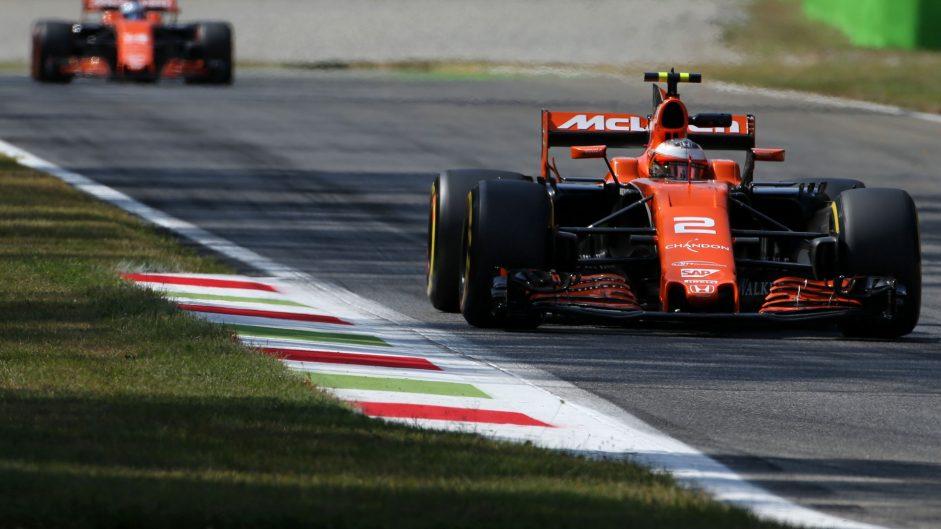 Stoffel Vandoorne, McLaren, Monza, 2017