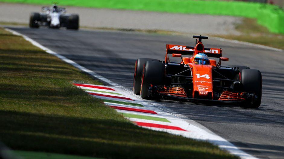 Fernando Alonso, McLaren, Monza, 2017