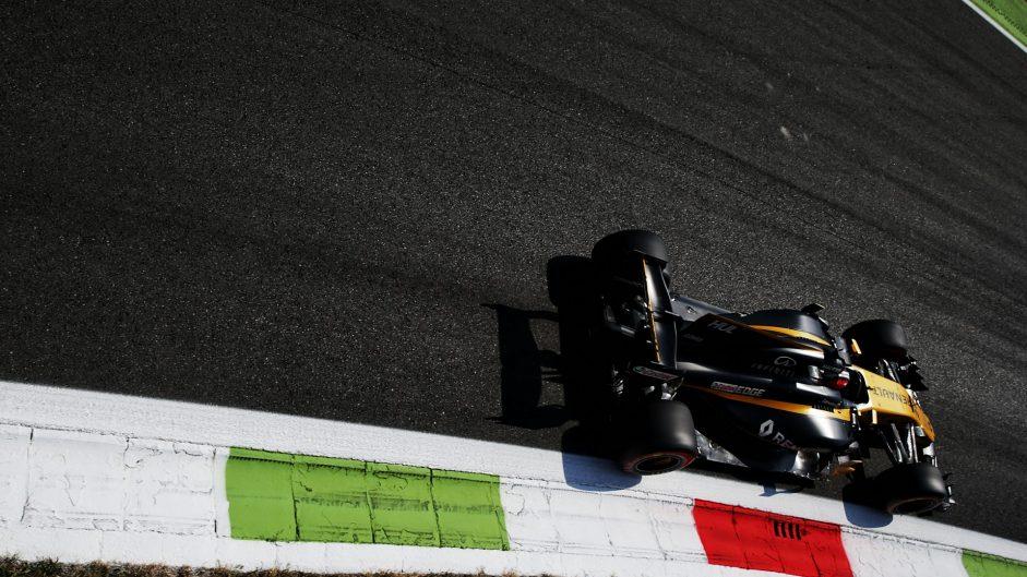 Nico Hulkenberg, Renault, Monza, 2017