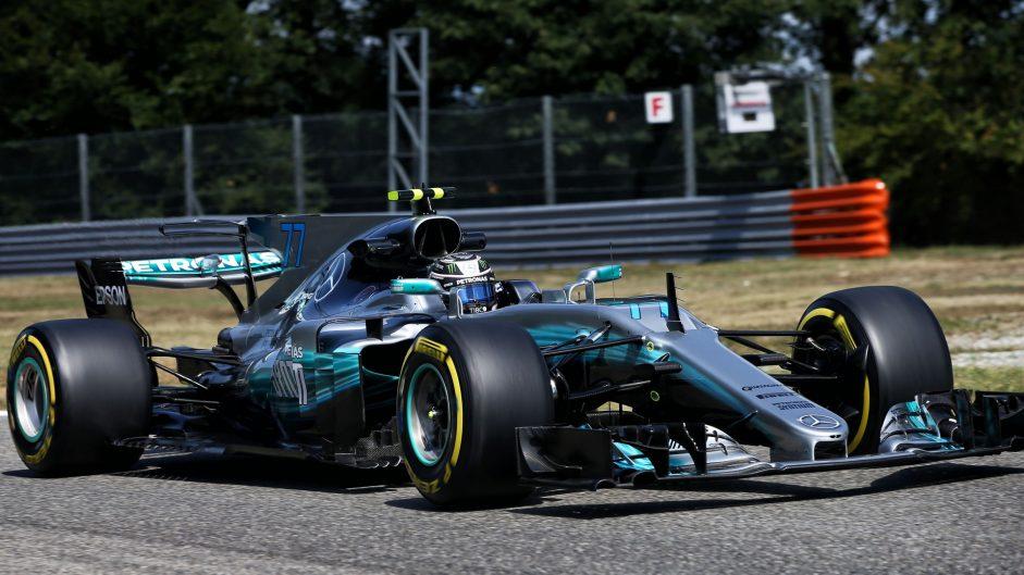 Valtteri Bottas, Mercedes, Monza, 2017