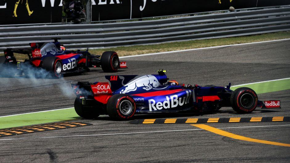 Carlos Sainz Jnr, Toro Rosso, Monza, 2017