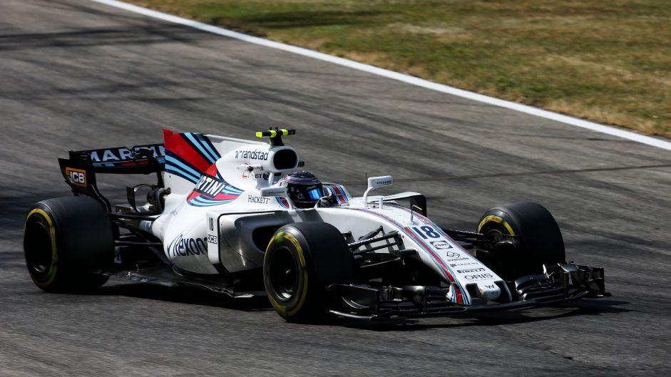Lance Stroll, Williams, Monza, 2017