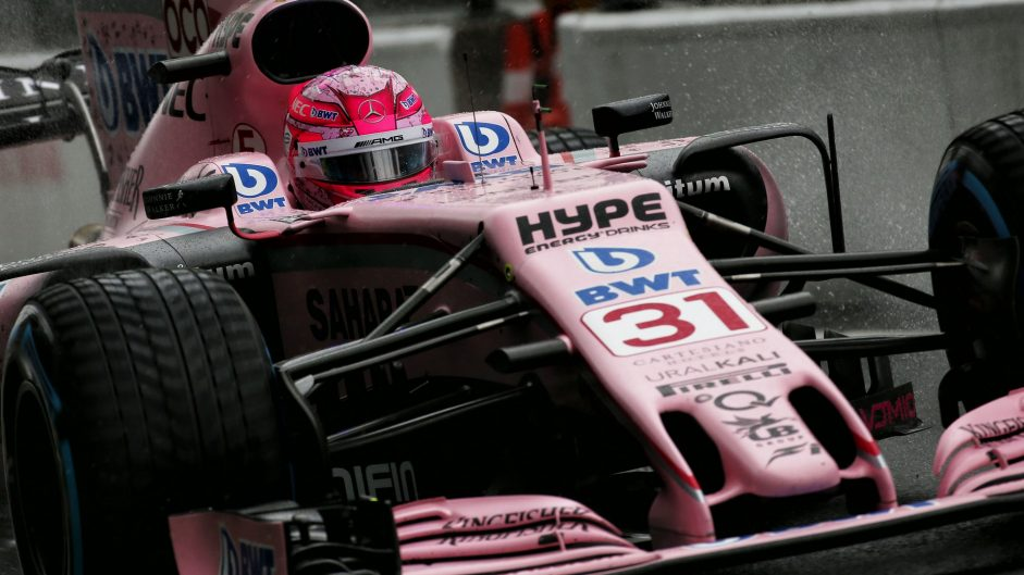 Ocon targets podium after qualifying third