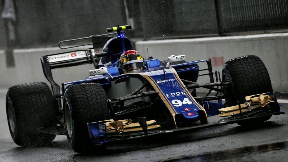 Pascal Wehrlein, Sauber, Monza, 2017