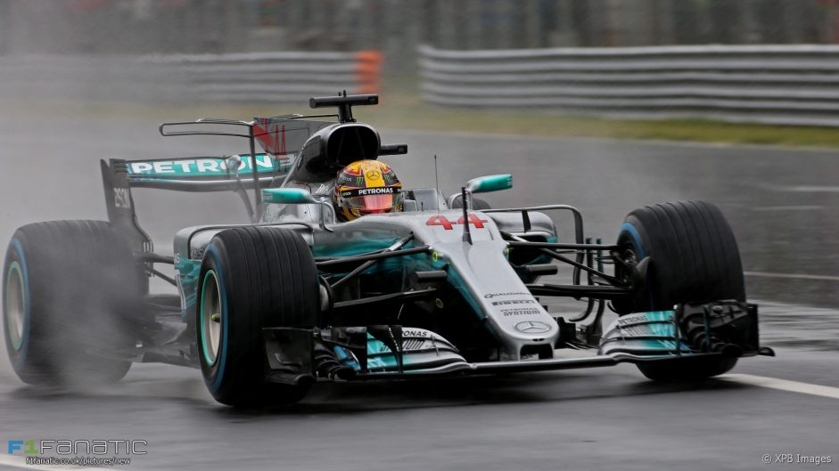 Hamilton masters soaked Monza for record-breaking 69th pole position