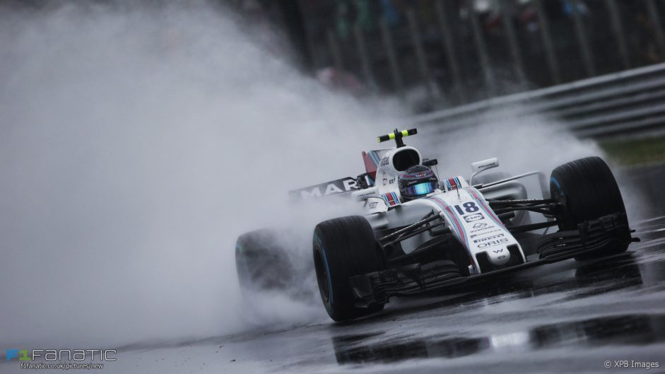 Stroll surprised by front row start