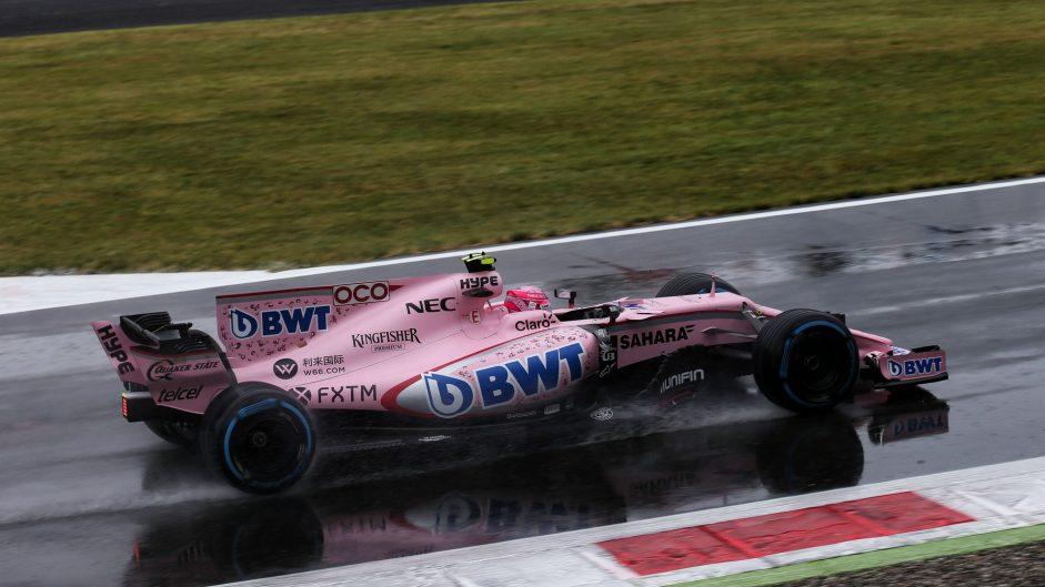 Esteban Ocon, Force India, Monza, 2017