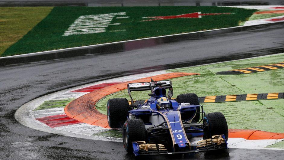 Marcus Ericsson, Sauber, Monza, 2017