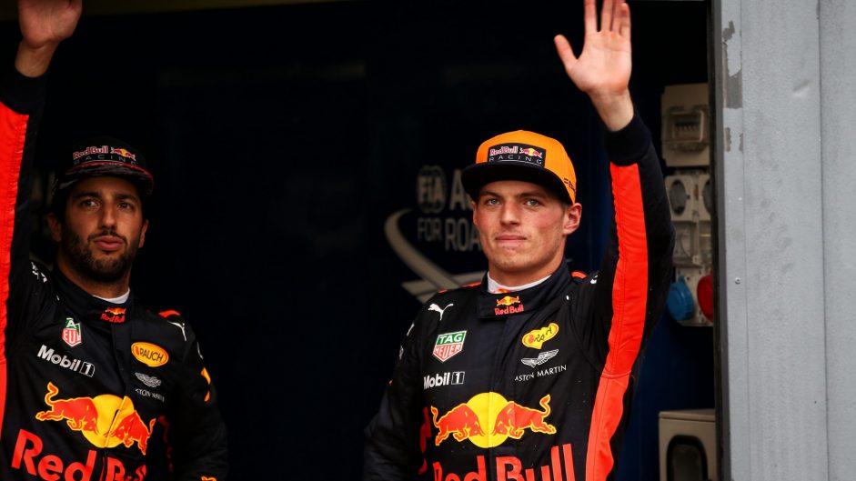 Daniel Ricciardo, Max Verstappen, Red Bull, Monza, 2017