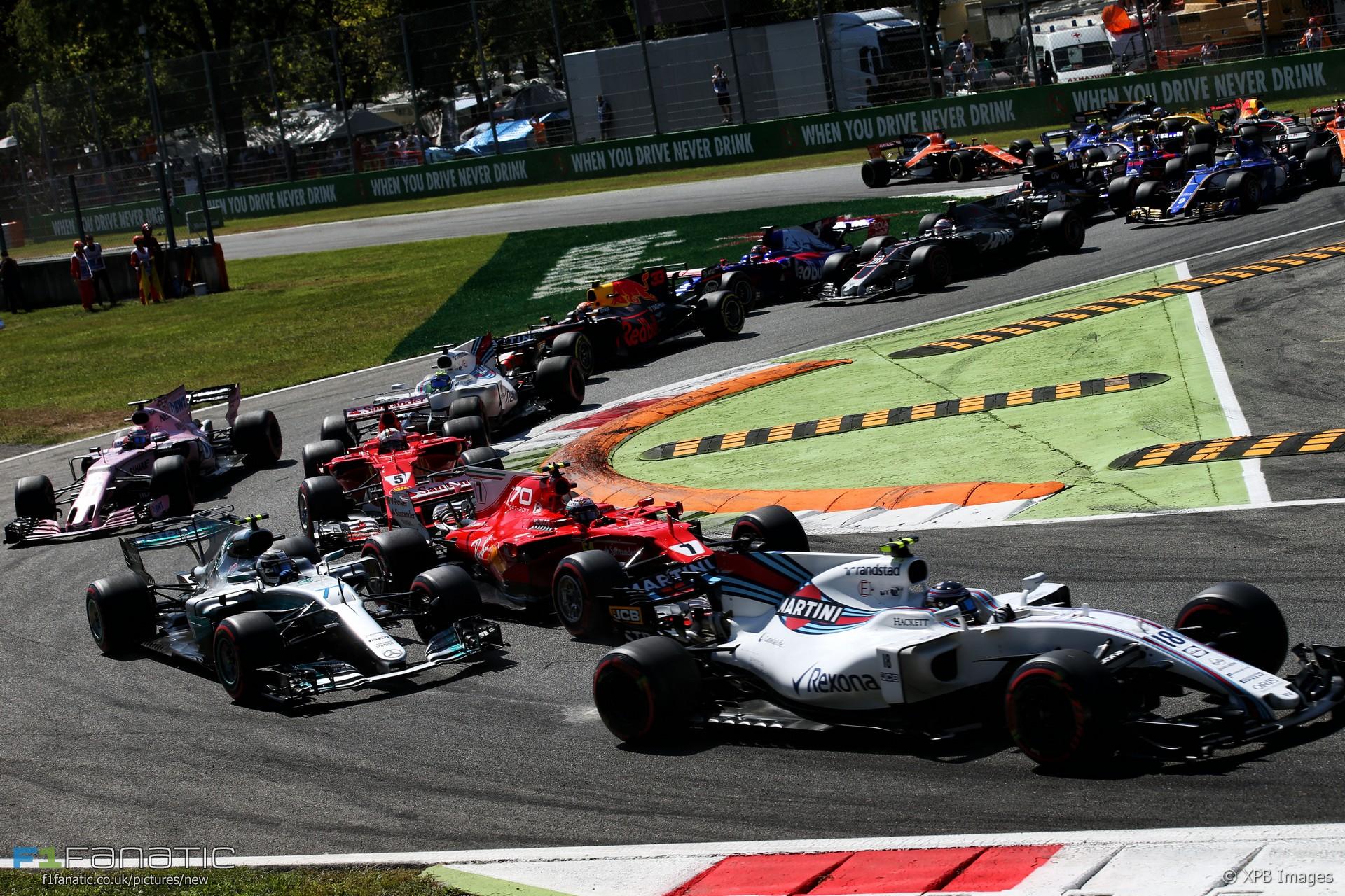 Výsledok vyhľadávania obrázkov pre dopyt GP F1 Monza 2017 start