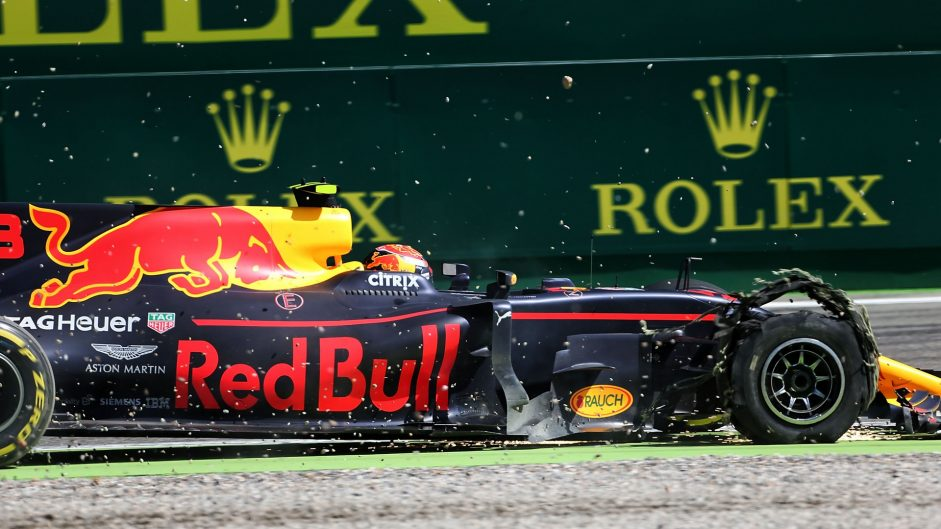 Verstappen happy with Red Bull performance despite puncture