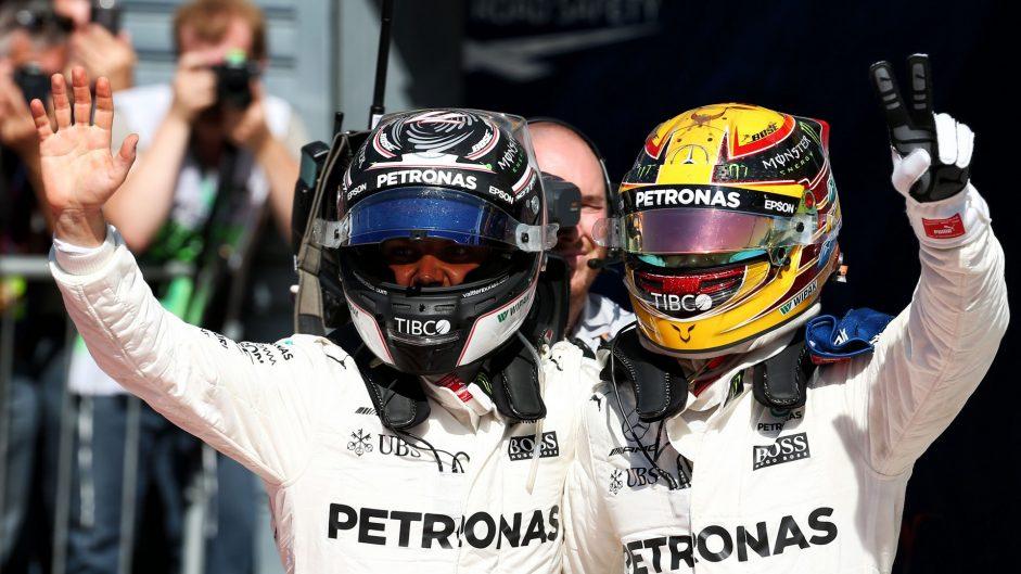 Mercedes continue their dominance in Ferrari's backyard