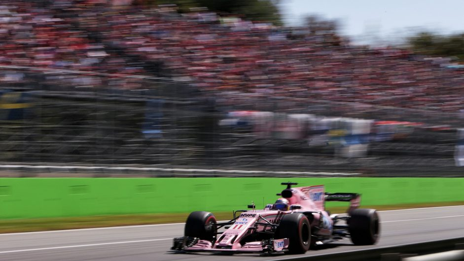Sergio Perez, Force India, Monza, 2017