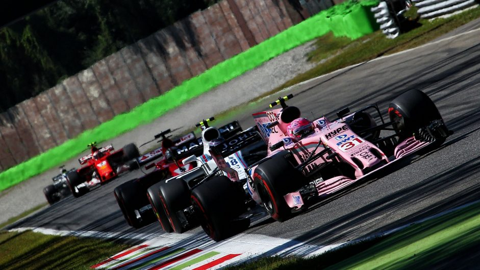 Esteban Ocon, Force India, Monza, 2017