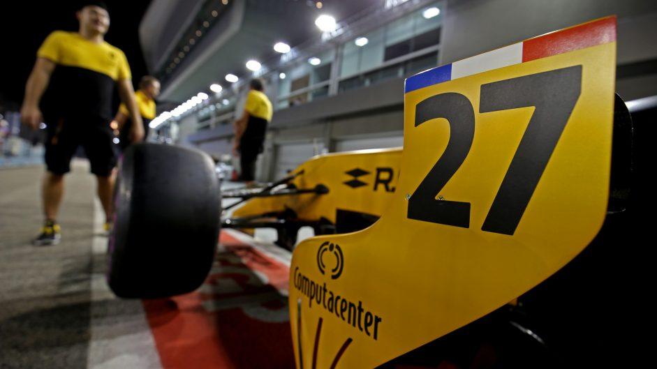 Nico Hulkenberg, Renault, Singapore, 2017