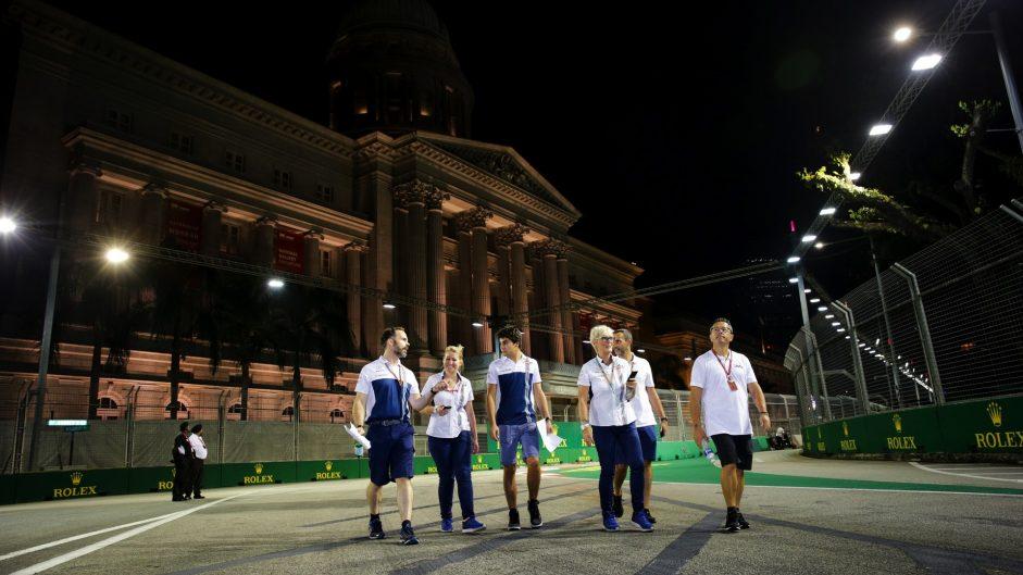 Lance Stroll, Williams, Singapore, 2017