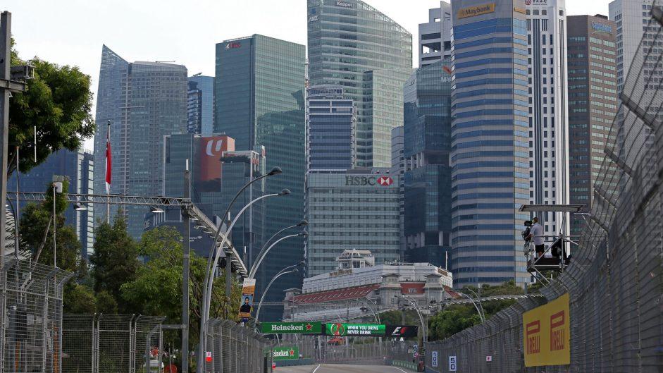 Kevin Magnussen, Haas, Singapore, 2017